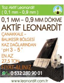 Leonardit Aktif Toz DÖKME (0,1 MM - 0,9 MM)