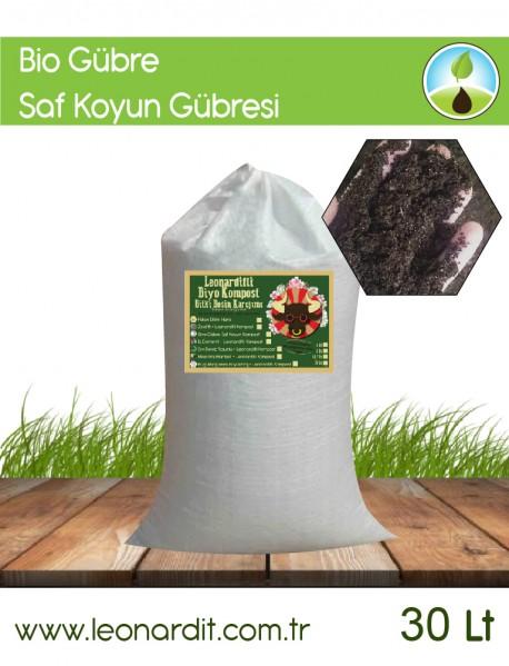 Bio Gübre Saf Koyun Kompost Kaz Dağlarından 30 Lt