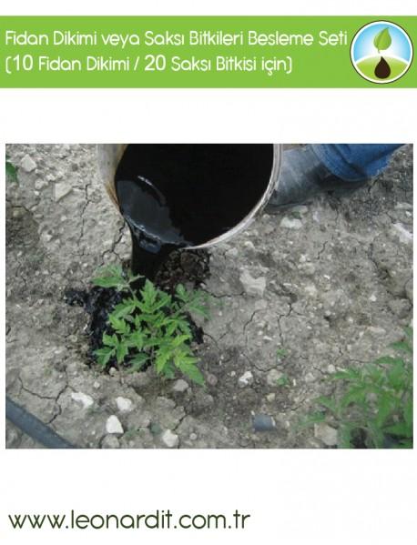 Süper Fidan Dikimi veya Saksı Bitkileri Besleme Seti (10 Fidan Dikimi / 20 Saksı Bitkisi için)