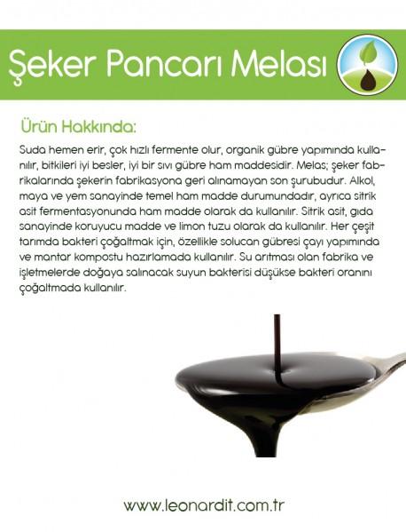 Şeker Pancarı Melası 25 KG KARGO ÜCRETSİZ