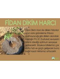 Fidan Dikim Harcı Leonardit, Koyun Gübresi, Solucan Gübresi, Zeolit, Faydalı Bakteri, İz Element - 1050 Lt