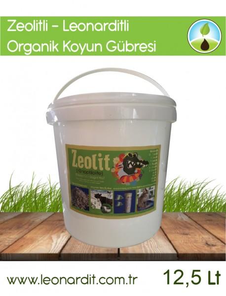 Zeolit + Leonarditli Koyun Gübresi 12,5 Lt